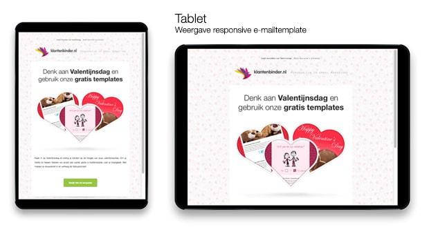 Voorbeeld e-mail iPad