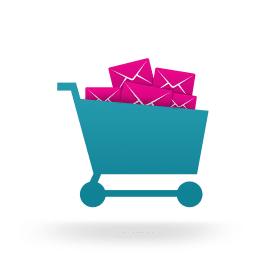 Blog icoon mobiel winkelen