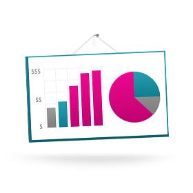 Blog icoon uitbreiding statistieken