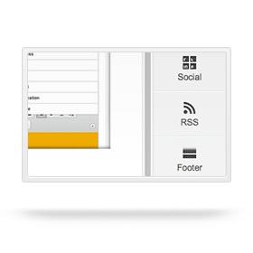 Blog icoon RSS functie