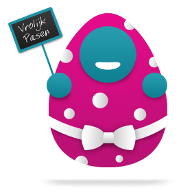 Blog icoon succesvol Pasen