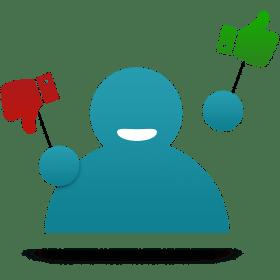 Blog icoon nieuwe feedbackfunctie