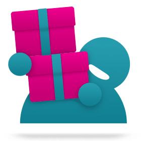 Blog icon cadeau